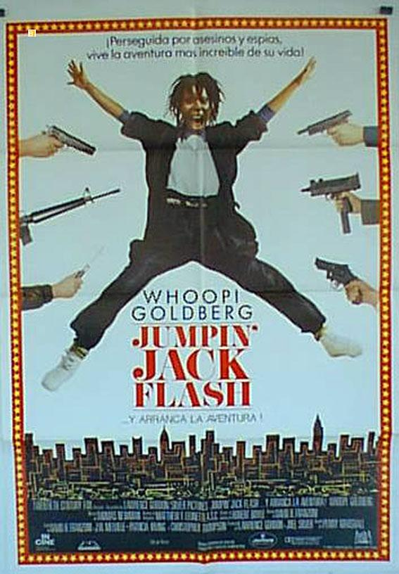JUMPIN? JACK FLASH MOVIE POSTER/JUMPIN JACK FLASH/POSTER