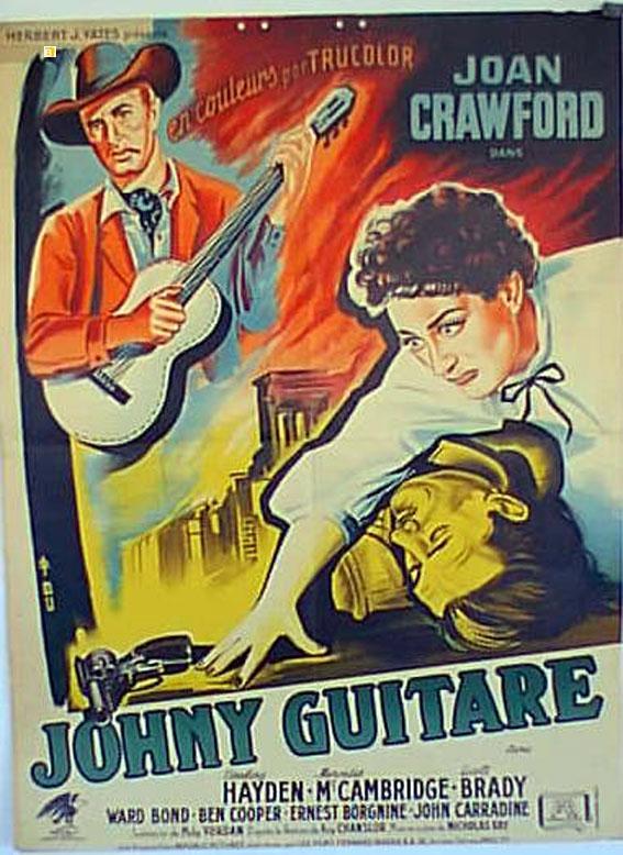 JOHNNY GUITAR MOVIE POSTER/JOHNY GUITARE/POSTER