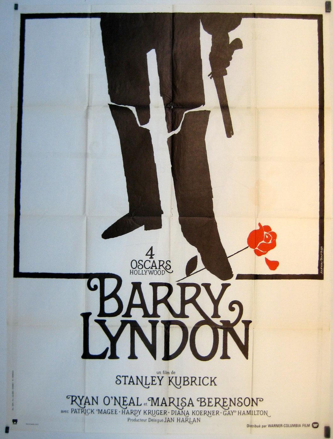 BARRY LYNDON MOVIE POSTER/BARRY LYNDON/POSTER