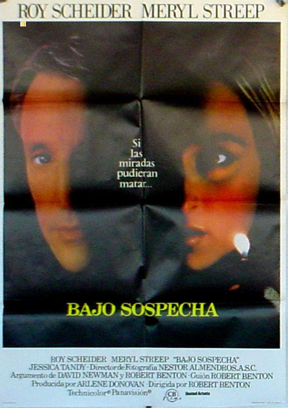 STILL OF THE NIGHT MOVIE POSTER/BAJO SOSPECHA/POSTER