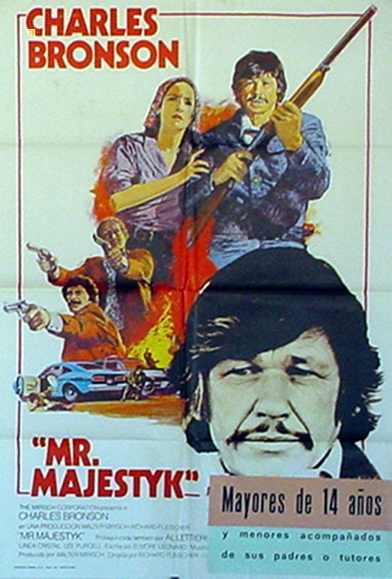 MR. MAJESTYK MOVIE POSTER/MR. MAJESTYK/POSTER
