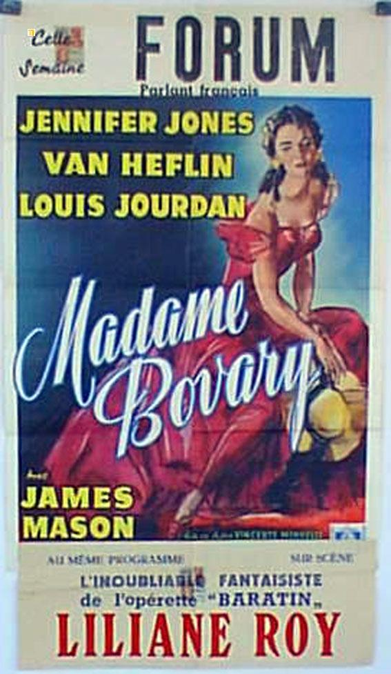 MADAME BOVARY MOVIE POSTER/MADAME BOVARY/POSTER