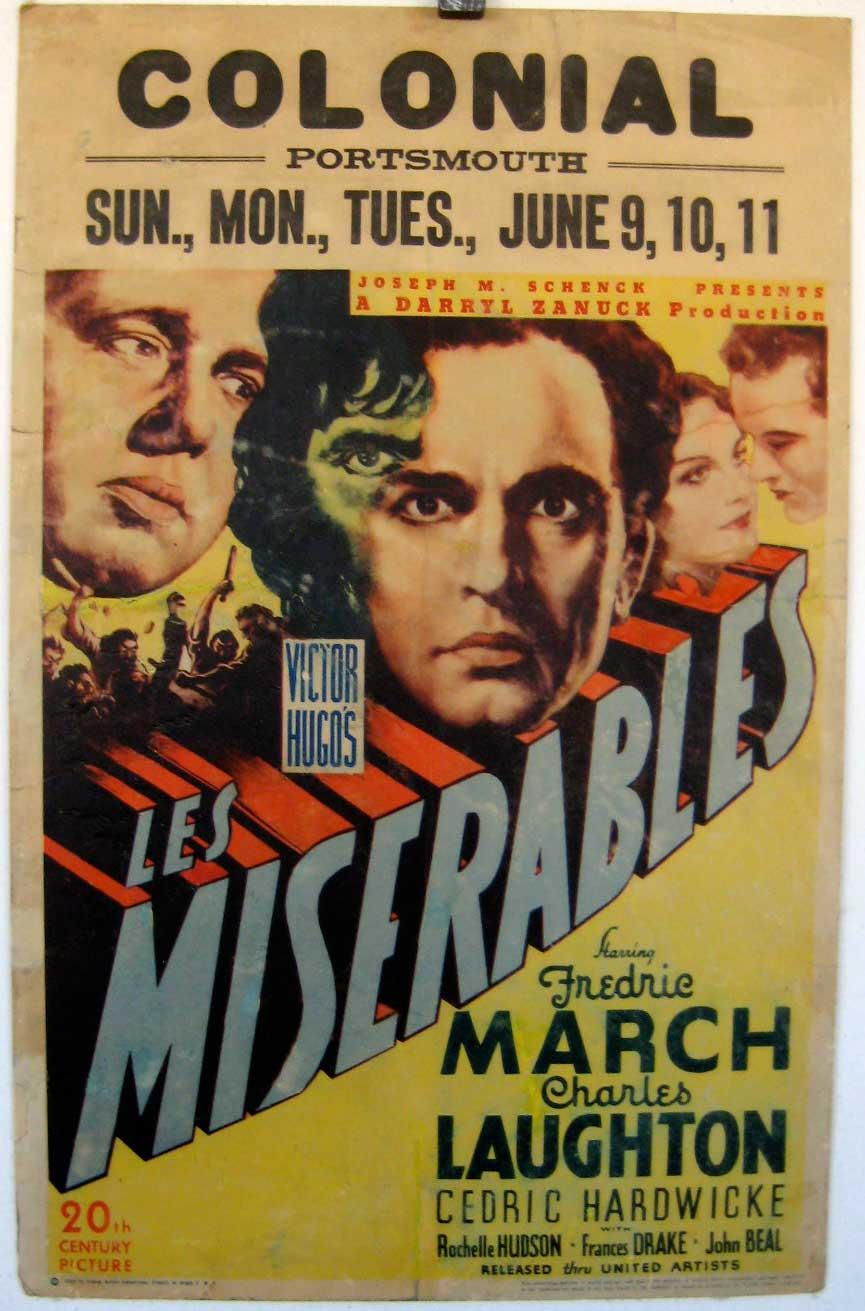 FOX 1935 - MISERABLES, LES - 1935, Dir: RICHARD BOLESLAWSKI, Cast: FREDRIC  MARCH, CHARLES LAUGHTON, CEDRIC HARDWICKE, , , Nac. film: USA, Company:  FOX, ...