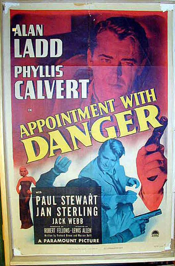 APPOINTMENT WITH DANGER MOVIE POSTER/APPOINTMENT WITH DANGER/POSTER