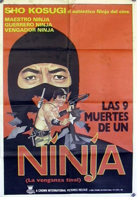 REVENGE OF THE NINJA MOVIE POSTER/NINJA/POSTER