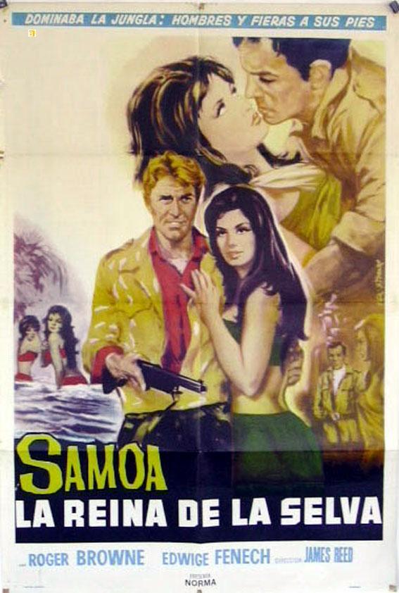 SAMOA, REGINA DELLA GIUNGLA MOVIE POSTER/SAMOA LA REINA DE LA SELVA/POSTER