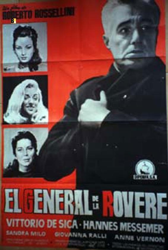 IL GENERALE DELLA ROVERE MOVIE POSTER/GENERAL DE LA ROVERE, EL/POSTER