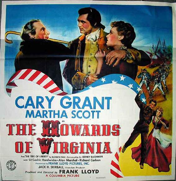 Image result for The Howards of Virginia 1940 poster