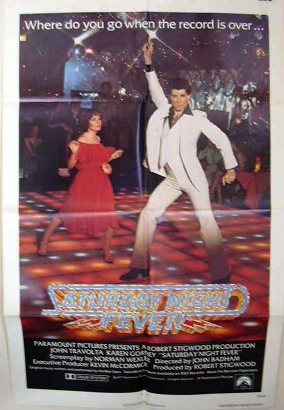 SATURDAY NIGHT FEVER MOVIE POSTER/SATURDAY NIGHT FEVER/POSTER