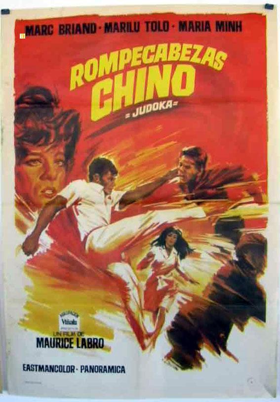 casse t te chinois pour le judoka movie poster rompecabezas chino poster benito original. Black Bedroom Furniture Sets. Home Design Ideas