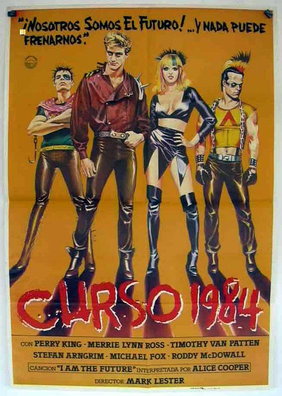 CLASS OF 1984 MOVIE POSTER/CURSO 1984/POSTER