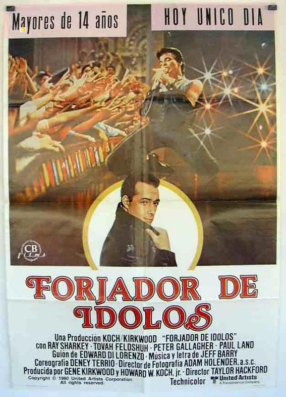 The Idolmaker MOVIE POSTER/FORJADOR DE IDOLOS/POSTER