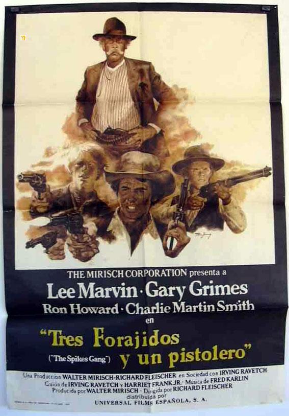 THE SPIKES GANG MOVIE POSTER/TRES FORAGIDOS Y UN PISTOLERO/POSTER