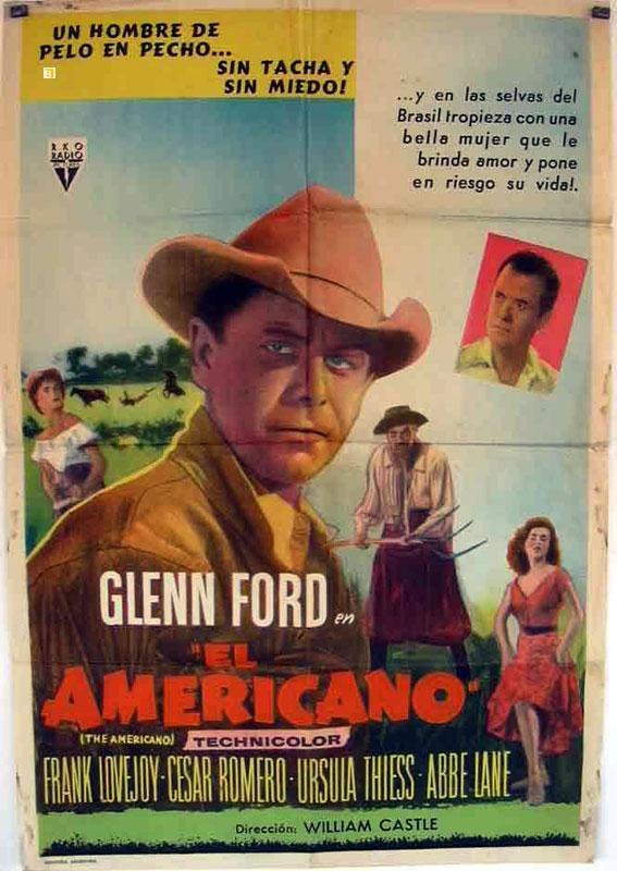 THE AMERICANO MOVIE POSTER/AMERICANO, EL/POSTER