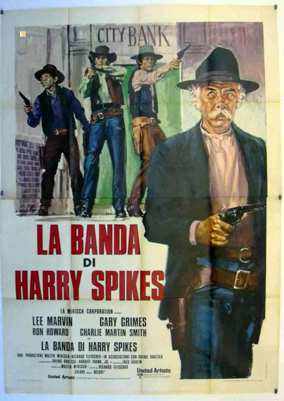THE SPIKES GANG MOVIE POSTER/BANDA DI HARRY SPIKES, LA/POSTER