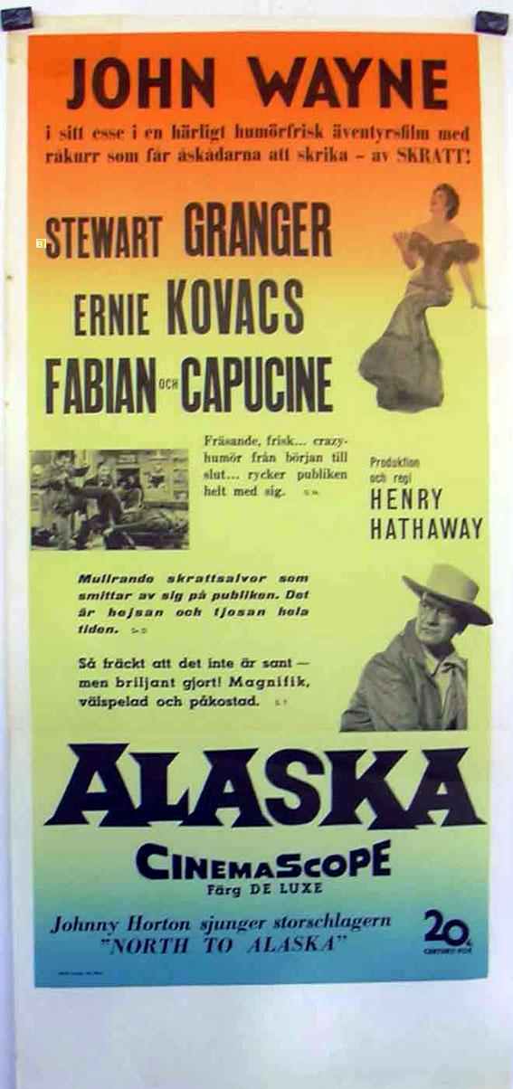 NORTH TO ALASKA MOVIE POSTER/ALASKA/POSTER