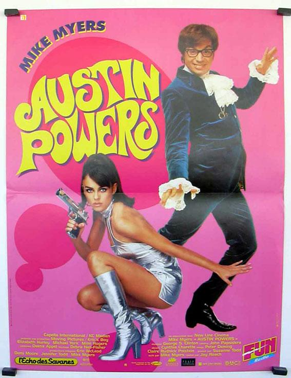 AUSTIN POWERS: INTERNATIONAL MAN OF MYSTERY SPECIAL MOVIE POSTER/AUSTIN POWERS/POSTER