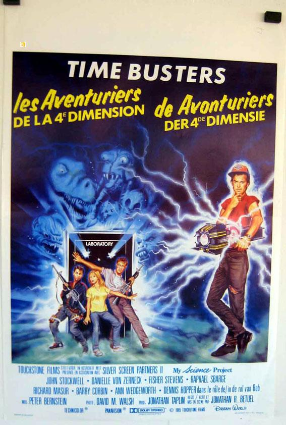 MY SCIENCE PROJECT MOVIE POSTER/TIME BUSTERS/POSTER