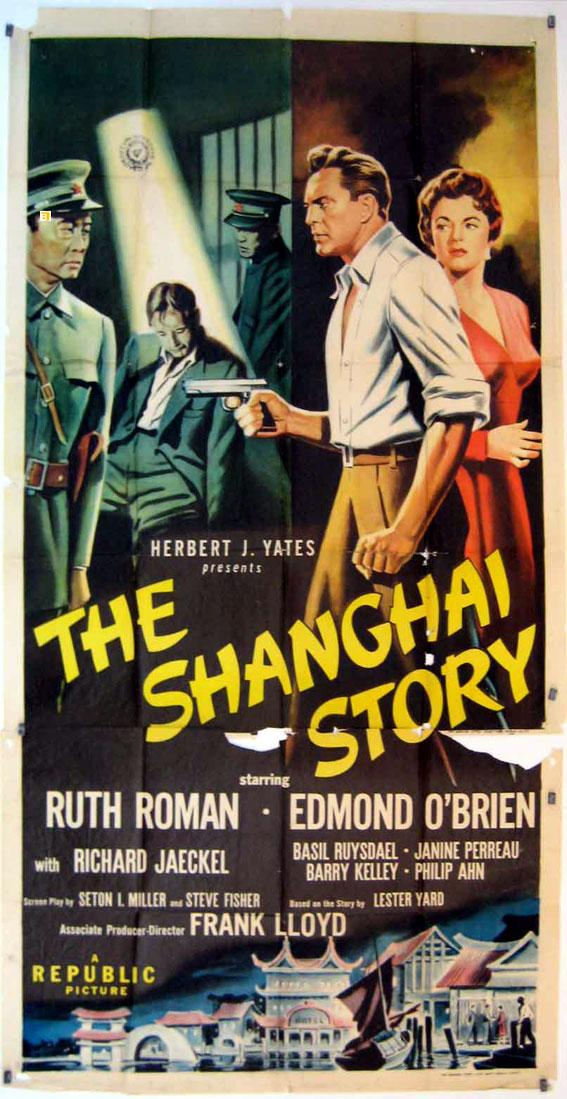 THE SHANGHAI STORY MOVIE POSTER/SHANGHAI STORY, THE/POSTER