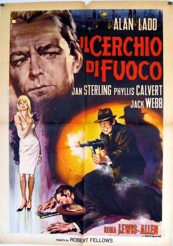 APPOINTMENT WITH DANGER MOVIE POSTER/IL CERCHIO DI FUOCO/POSTER