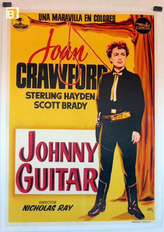 JOHNNY GUITAR MOVIE POSTER/JOHNNY GUITAR/POSTER