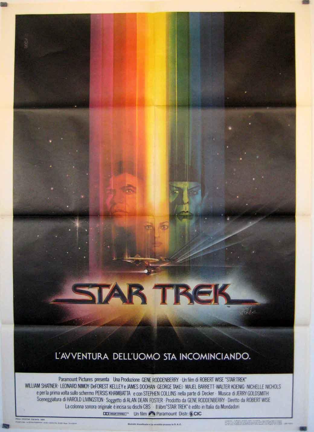 STAR TREK: THE MOTION PICTURE MOVIE POSTER/STAR TREK,/POSTER