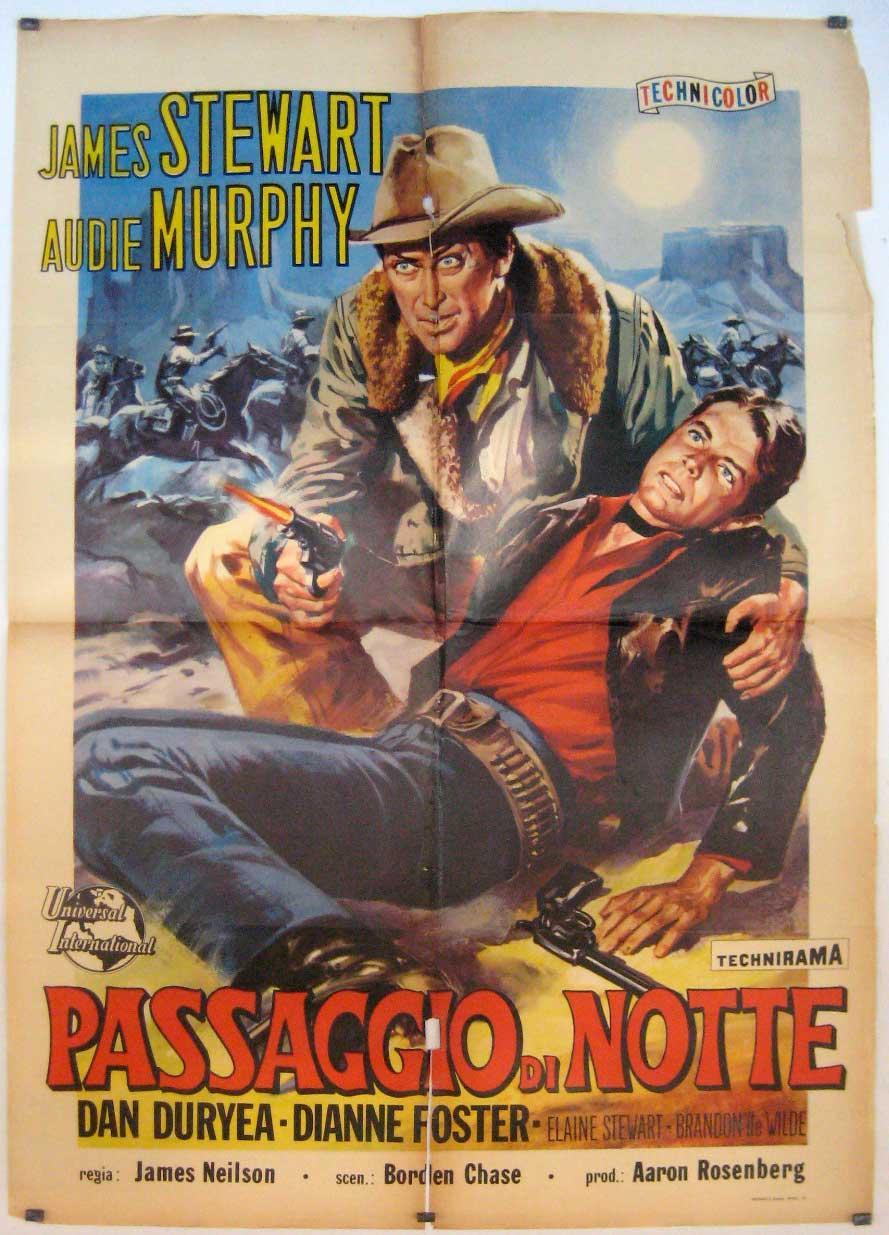 NIGHT PASSAGE MOVIE POSTER/PASSAGGIO DI NOTTE,/POSTER