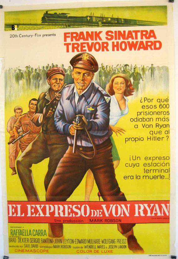 VON RYAN?S EXPRESS MOVIE POSTER/EXPRESO DE VON RYAN, EL/POSTER