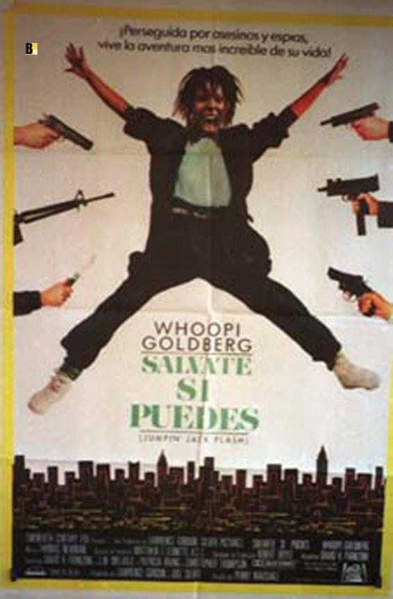 JUMPIN JACK FLASH MOVIE POSTER/SALVATE SI PUEDES/POSTER