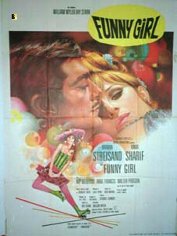FUNNY GIRL MOVIE POSTER/FUNNY GIRL/POSTER