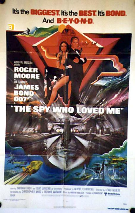 THE SPY WHO LOVED ME MOVIE POSTER/SPY WHO LOVED ME, THE/POSTER