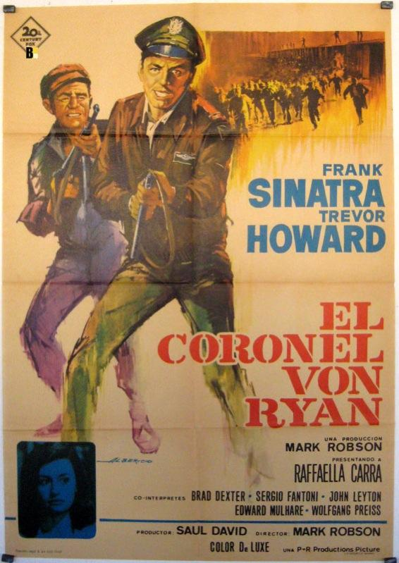 VON RYAN?S EXPRESS MOVIE POSTER/CORONEL VON RYAN, EL/POSTER