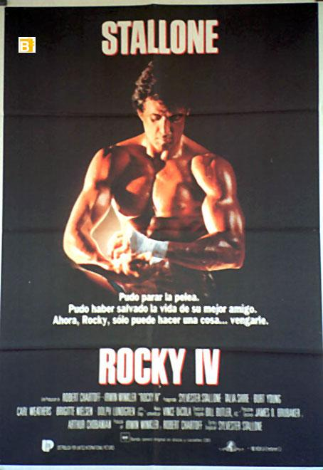 ROCKY IV MOVIE POSTER/ROCKY IV/POSTER