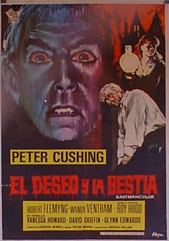 THE BLOOD BEAST TERROR MOVIE POSTER/DESEO Y LA BESTIA, EL/POSTER