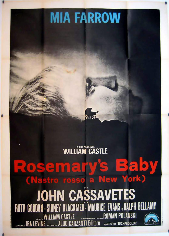 ROSEMARY S BABY MOVIE POSTER/ROSEMARY S BABY/POSTER