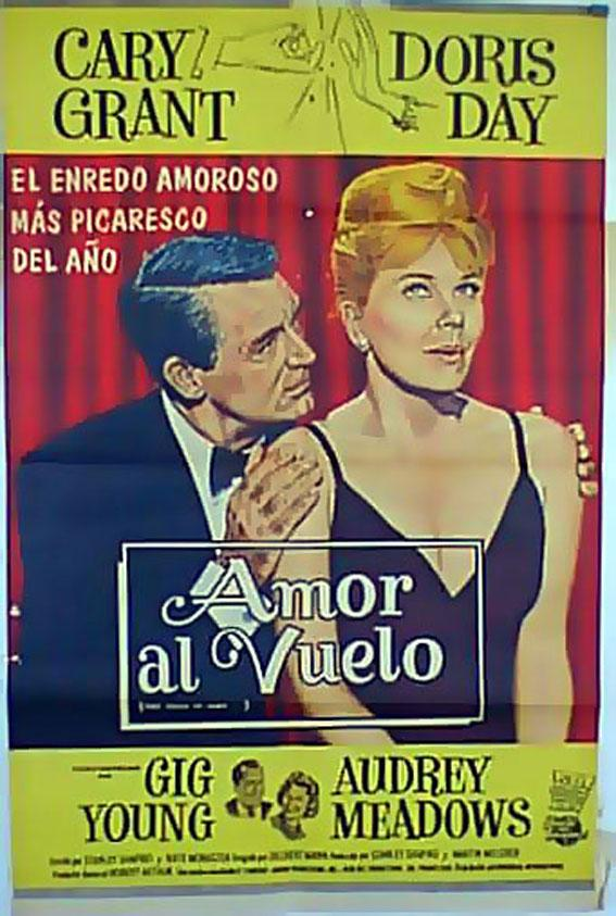 THAT TOUCH OF MINK MOVIE POSTER/AMOR AL VUELO/POSTER