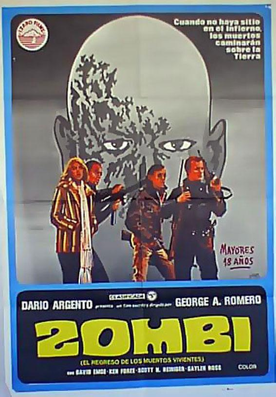 DAWN OF THE DEAD MOVIE POSTER/ZOMBI/POSTER