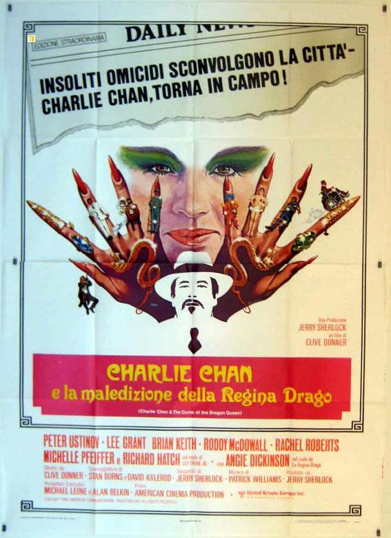 CHARLIE CHAN AND THE CURSE OF THE DRAGON MOVIE POSTER/CHARLIE CHAN E LA MALEDIZIONE DELLA REGINA DRAGO/POSTER