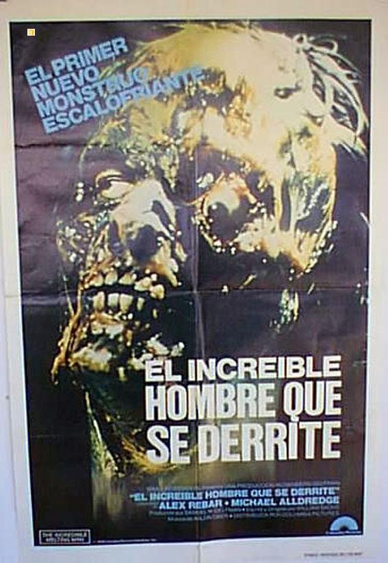 THE INCREDIBLE MELTING MAN MOVIE POSTER/INCREIBLE HOMBRE QUE SE DERRITE, EL/POSTER