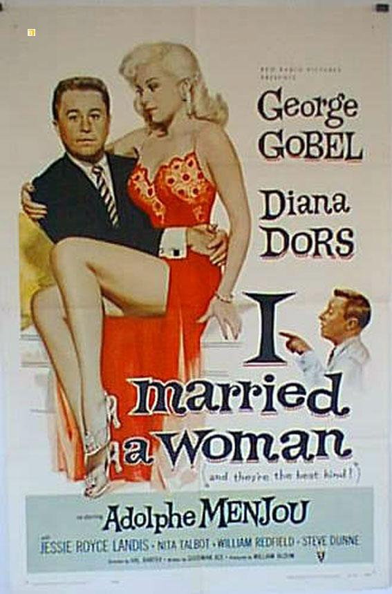 I MARRIED A WOMAN MOVIE POSTER/I MARRIED A WOMAN/POSTER