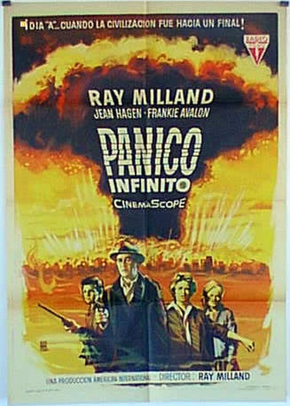 PANIC IN YEAR ZERO! MOVIE POSTER/PANICO INFINITO/POSTER