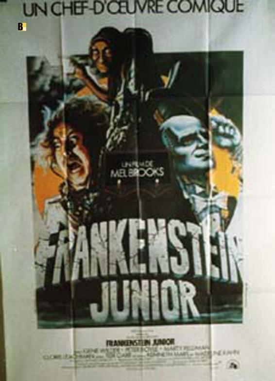 YOUNG FRANKENSTEIN MOVIE POSTER/FRANKENSTEIN JUNIOR/POSTER