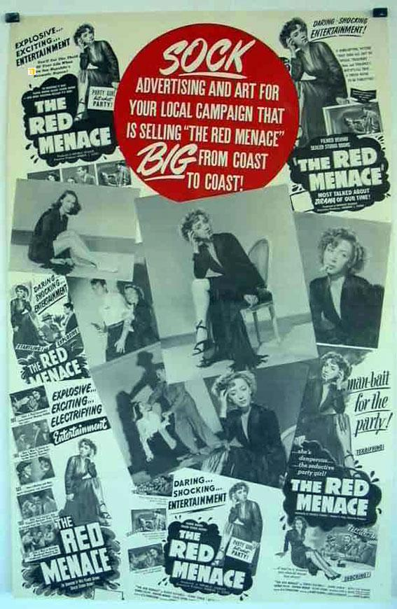 THE RED MENACE MOVIE POSTER/RED MENACE, THE/POSTER