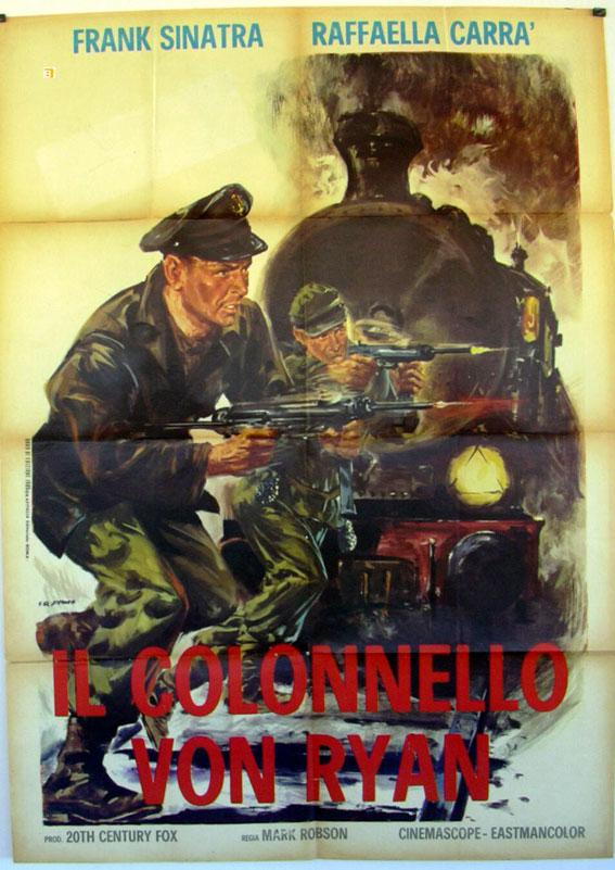 VON RYAN?S EXPRESS MOVIE POSTER/COLONNELLO VON RYAN, IL/POSTER