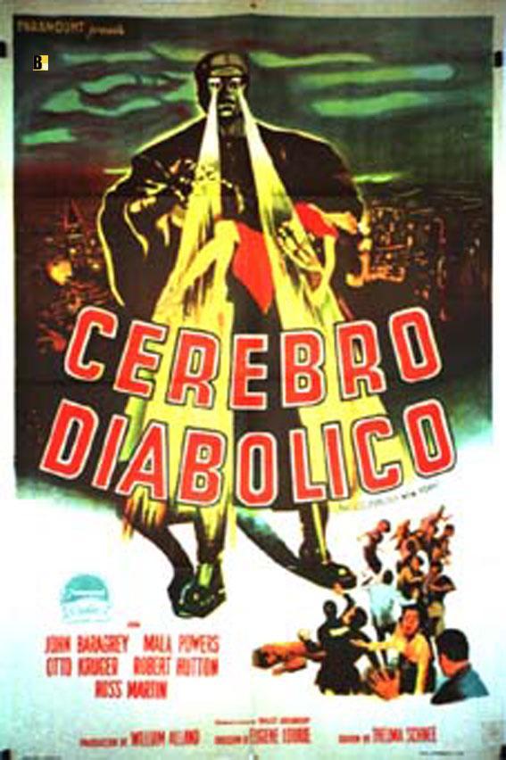 THE COLOSSUS OF NEW YORK MOVIE POSTER/CEREBRO DIABOLICO, EL/POSTER