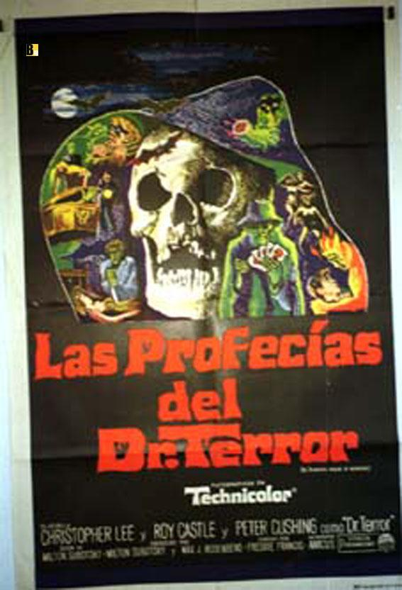 DR. TERROR S HOUSE OF HORRORS MOVIE POSTER/PROFECIAS DEL DR. TERROR, LAS/POSTER