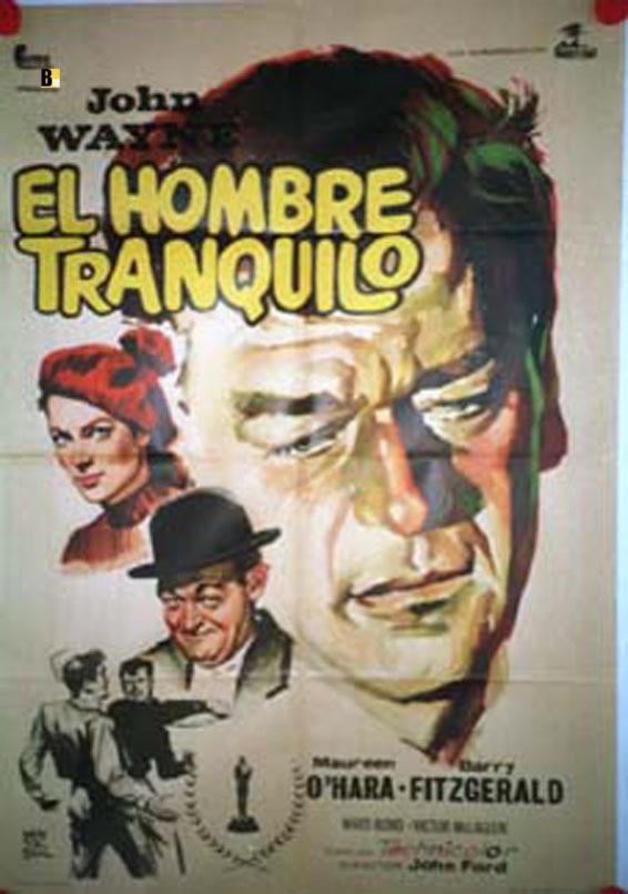 THE QUIET MAN RES MOVIE POSTER/HOMBRE TRANQUILO, EL/POSTER