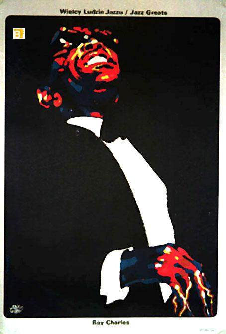 RAY CHARLES MOVIE POSTER/RAY CHARLES/POSTER