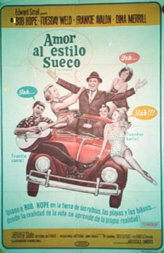 I'LL TAKE SWEDEN MOVIE POSTER/AMOR AL ESTILO SUECO/POSTER