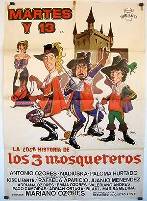 MOVIE POSTER/ LA LOCA HISTORIA DE LOS